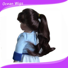 Black baby doll wig from china professional manufacturer