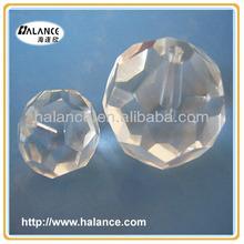 crystal end fitting for fiber optic chandelier light