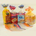 Alta calidad de impresión personalizada de plástico de pan bolsa