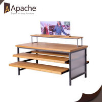 9 years no complaint clothing store corrugated cardboard display shelf
