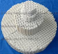 Ceramic Corrugated Packing Ceramic Tower Packing