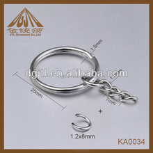 Fashion high quality wholesale split ring link chain