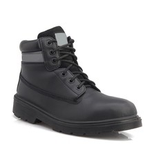 goodyear high ankle boots/Goodyear Welted Split Embossed boots/leather safety boot