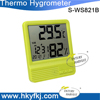 Home Digital Thermo Thermometer and Hygrometer Humidity Meter C F Temperature with Calendar Week Big LCD Display