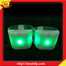 Most Demanded Products Sport Cheer Exercise Fan Favor Led Flashing Bracelet Party Decoration Wristband Led Flashing Bracelet