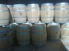 old oak barrels cognac and wine