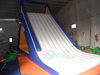 Big size inflatable floating water slide