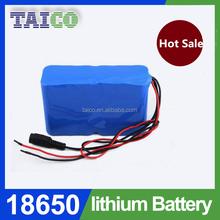 High effiency 10000mah li-ion 18650 battery pack 11.1v for Portable Stereo Sound