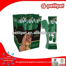 China wholesale food distributor about dog chews bones,healthy and green for dog Yaho dental bone
