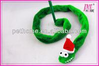 2013 cat teaser dangler with rattle toy snake