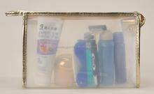 Fashion Waterproof Zip Pack Bag,PVC Cosmetic Bag with Zip