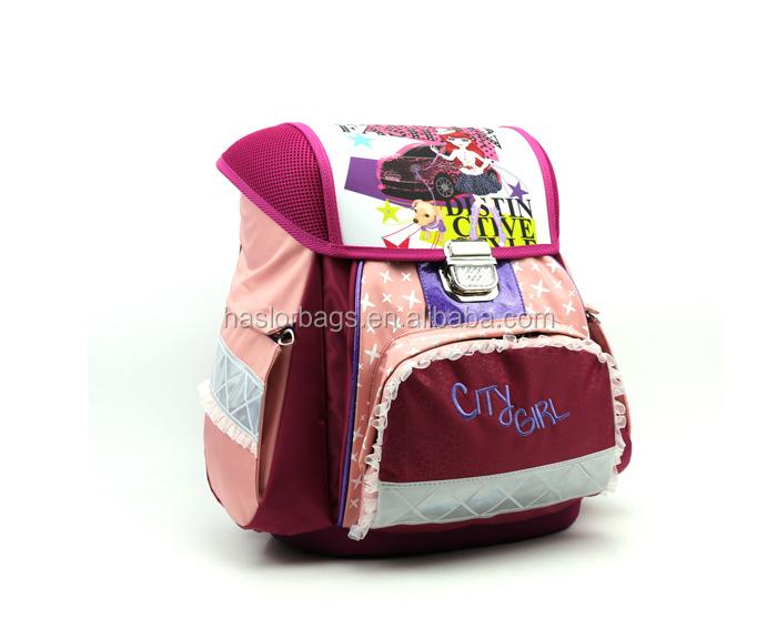 Mignon enfants les filles pas cher sac d'école, Eva sac d'école