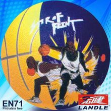 hot sale official size phthalate free American basketball