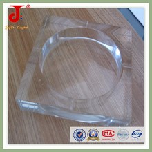 Promotional Cheap For Home Car Decoration Square Clear Glass Ashtray