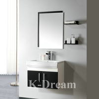High quality swivel mirror cabinet / Plastic wall hanging cabinet