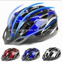 Rojo multi- color de bicicleta de carretera bicicleta de ciclismo casco
