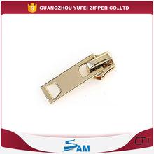 light gold zipper slider