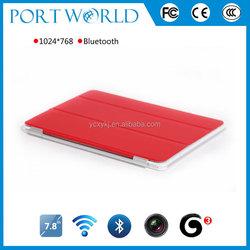 7.85inch MTK8312 dual core dual camera tablet slim 3g tablets