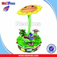 NF-K69 Plants VS Zombia Carrousel(3P) kids amusement rides , amusement park toys , amusement park rides