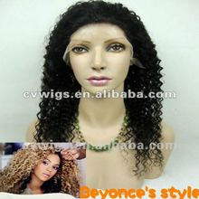Afro Kinky Human Hair Glueless Full Lace Wig
