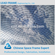 Steel structure dome space frame by large span steel roof
