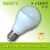 A19 10W E26 UL led bulb 810lm can replace 60w incandescent