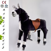 (EN71&ASTM&CE)~(Pass!!)~Port Dalian New Products Looking For Distributor Ride On Horse Toy With Factory Price /Luck Donkey