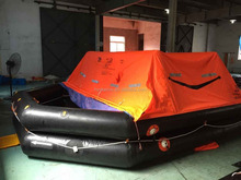 CCS,EC China co2 inflater self inflating life raft with price