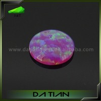 Alibaba OP09 rock crystal purple color rainbow fire stone african opal