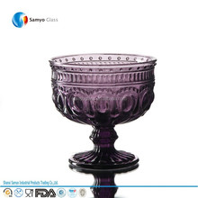 Samyo Custom Glassware Manufacturer for bar ware club ware hold ice cream or coffee or juice glass cup