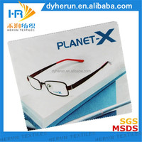 Digital print cleaning cloth/ hot transfer print microfiber lens cleaning cloth/ sublimation print lens cleaning cloth!