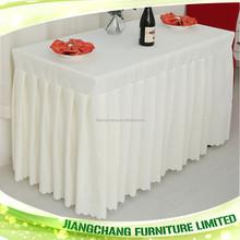 Hotel decorative table skirts JC-ZB15