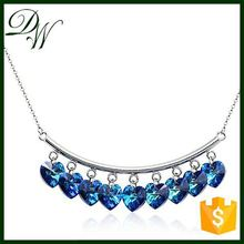 manufacture Micro Pave necklace Rhinestone Micro Pave necklace platinum necklace, heavy kundan jewelry set