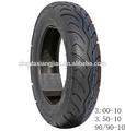 Los neumáticos sin cámara de aire para el tamaño 3.50-10