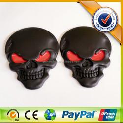 High Quality Durable 3D ABS Black Car Sticker/Black ABS Sticker/Car Emblem with 3M Brand