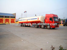 China manufacturer CTAC 3 Axles 40 Tons Oil/fuel Tanker Semi Trailer For Sale