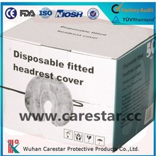 Disposable Non-woven face rest cover for massage chair