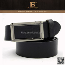 Western cowhide automatic buckle leather belt for men