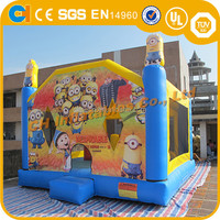 Hot Inflatable Minions Bounce House ,Minions Bouncy Castle for Sale,Inflatable Jumper