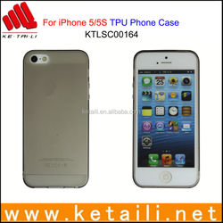 For iPhone 5S Custom Design Matte TPU Mobile Phone Case Made in China