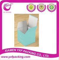 2015 Hot Sale Custom Tiffany Blue Colored Monogram Favor Boxes