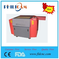 HOT SALES !!! Low price Laser engraving machine FLDJ6040 with high precision of Jinan Philicam