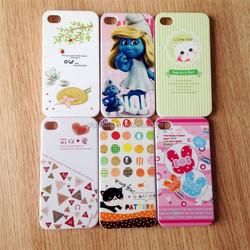 plastic various pattern mobile phone case