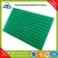 Twin wall fadeless polycarbonate for patio covers