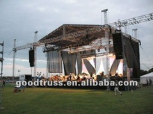 outdoor concert stage roof canopy