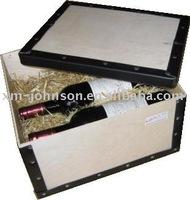 Paper Wine Storage Box (Wine bottle kraft Box,single wine paper box,Gift kraft paper box)