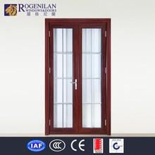 ROGENILAN-75 (Australian AS2047 certification) grills design aluminium alloy commercial costco doors