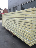 Structural Pu insulated sandwich panels for cold room