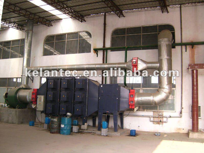 De gas equipos de extración