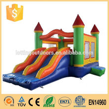 2015 hot sale for kids fire truck inflatable water slide